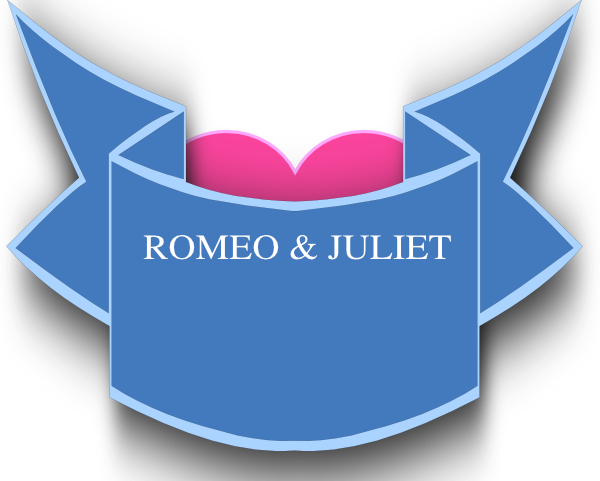 Romeo and juliet clipart jpg royalty free Romeo And Juliet Logo Clip Art at Clker.com - vector clip art ... jpg royalty free