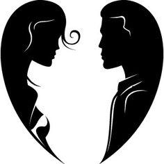 Romeo und julia clipart graphic Schwarz/weißes Liebespaar - Romeo und Julia | Liebes-Edition ... graphic