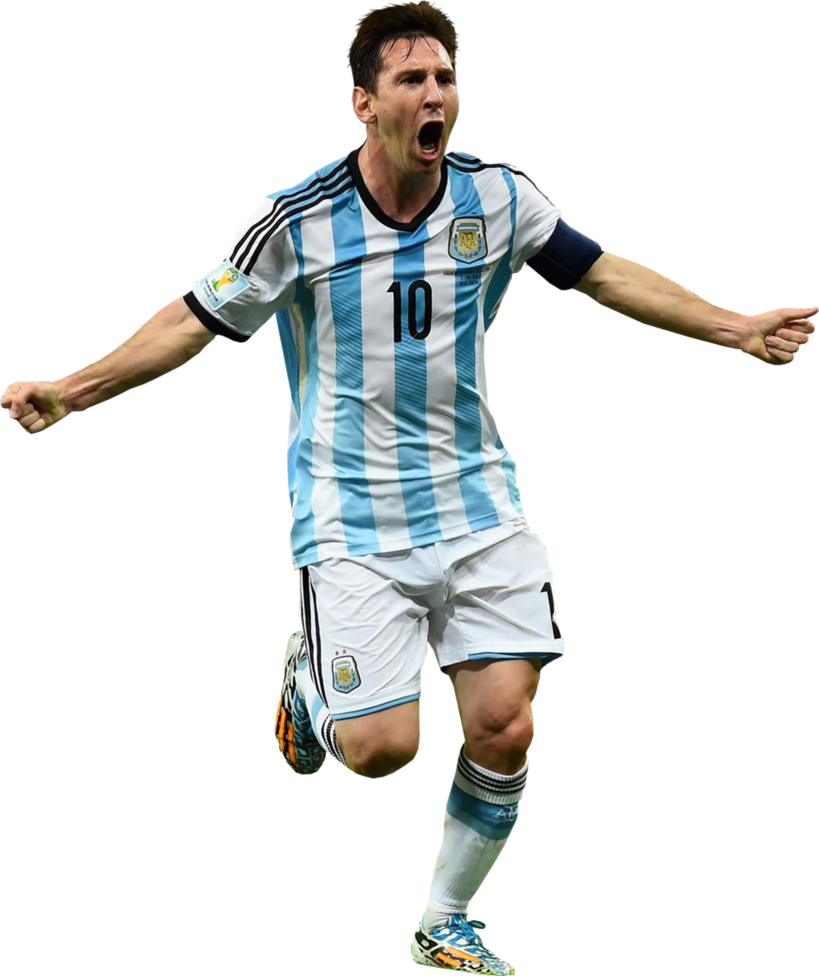 Ronaldo football players clipart psd image library stock Lionel Messi Argentina Png image library stock