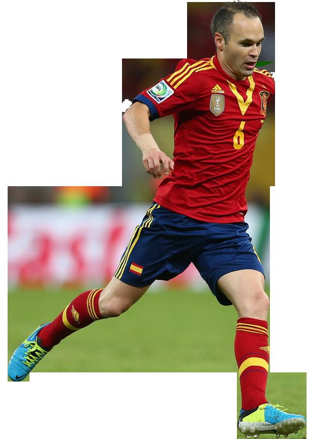 Ronaldo football players clipart psd free download Andreas Iniesta Render by FurkanCbc on DeviantArt free download