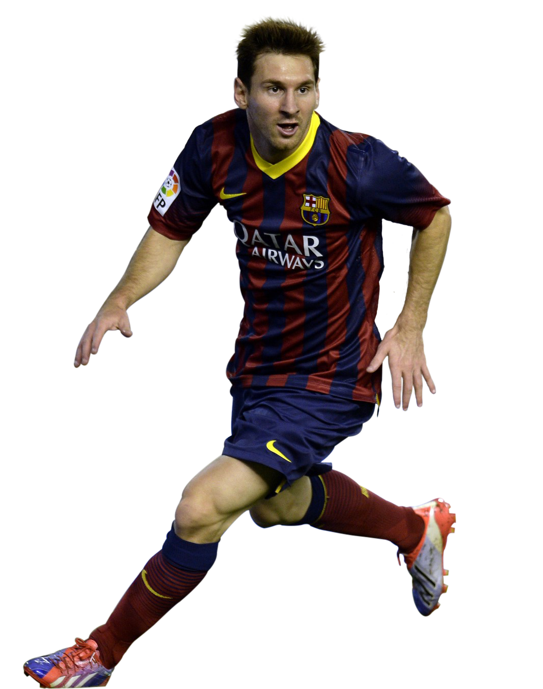 Ronaldo football players clipart psd library Lionel Messi Transparent Background Barca library