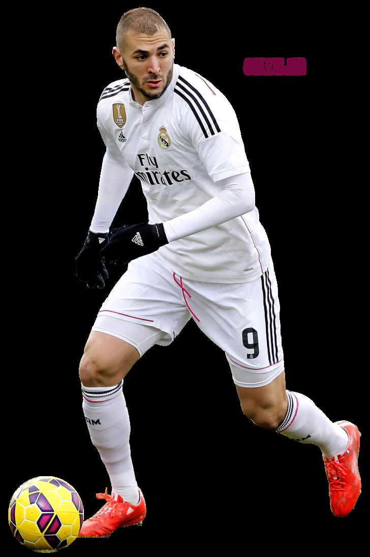 Ronaldo football players clipart psd banner freeuse Karim Benzema by szwejzi on DeviantArt banner freeuse
