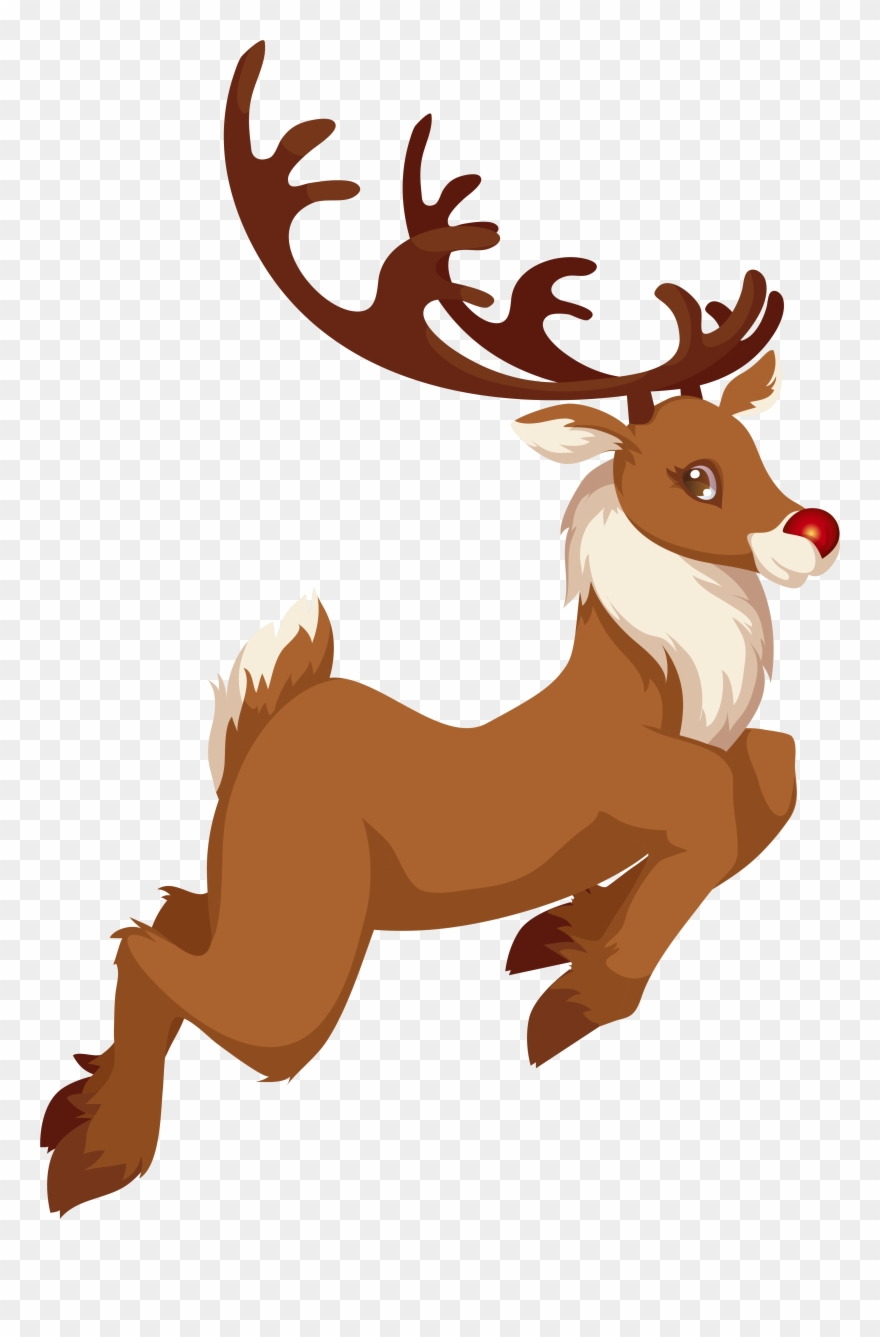 Roudolph clipart clipart freeuse Rudolph Clipart - Rudolph Png Transparent Png (#373676 ... clipart freeuse