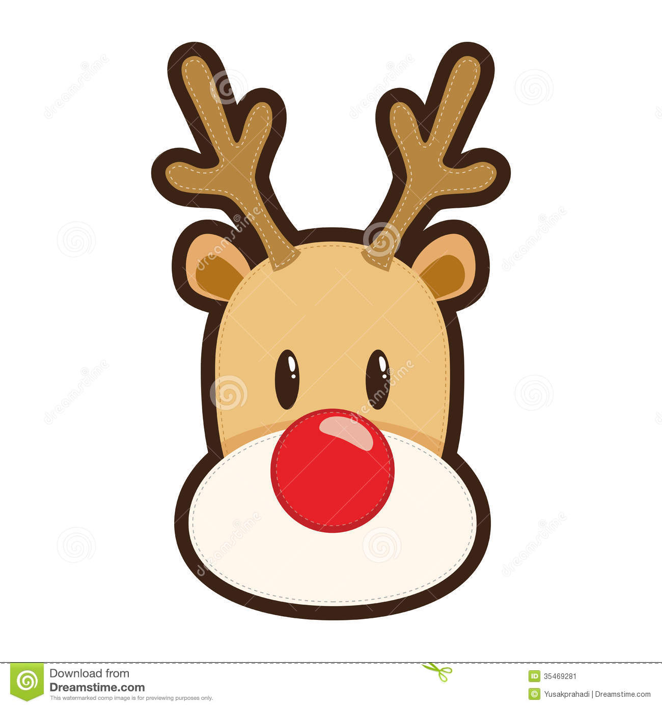 Roudolph clipart svg freeuse Cartoon rudolph the red nosed reindeer white clipart ... svg freeuse