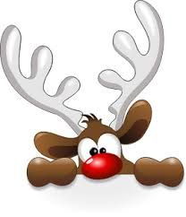 Roudolph clipart banner black and white Rudolph clipart | Clipart and Printable Images for all ... banner black and white