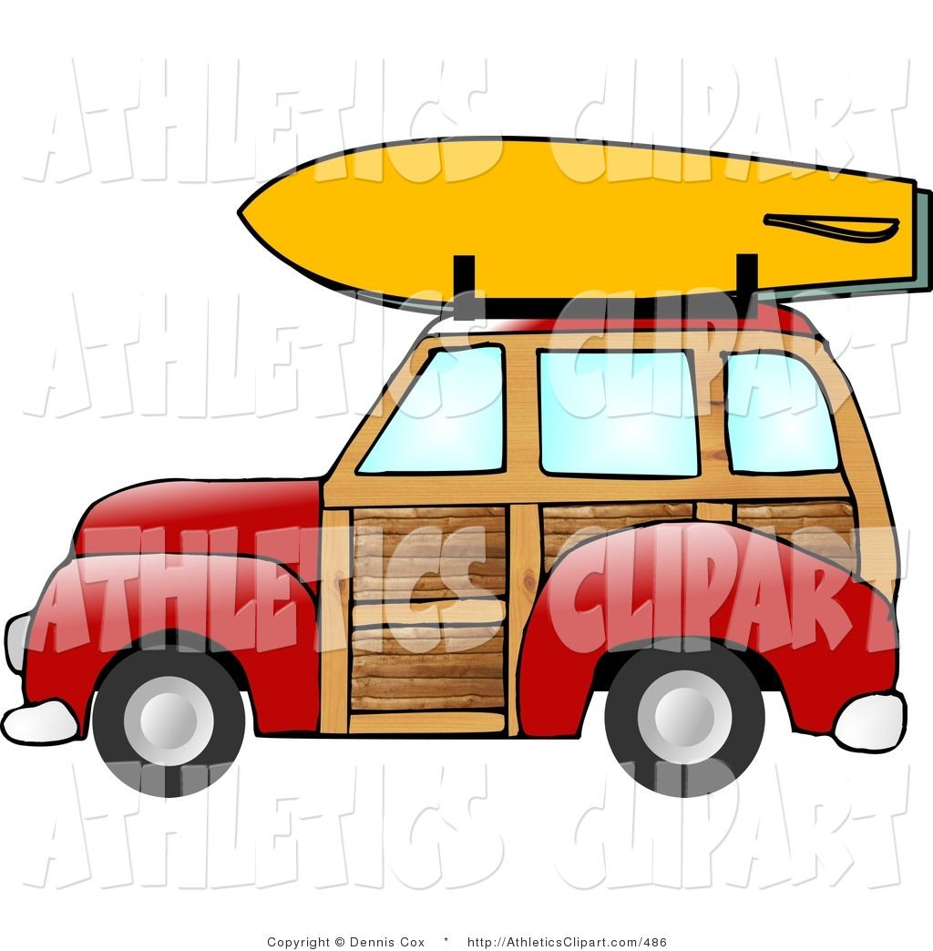 Roof rack clipart vector library stock Pin by Brianna Davis on helmets | Roof rack, Woody wagon ... vector library stock