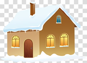 Roof snow clipart clip art transparent download Pizza Snow Cheese Winter, Winter snow house transparent ... clip art transparent download