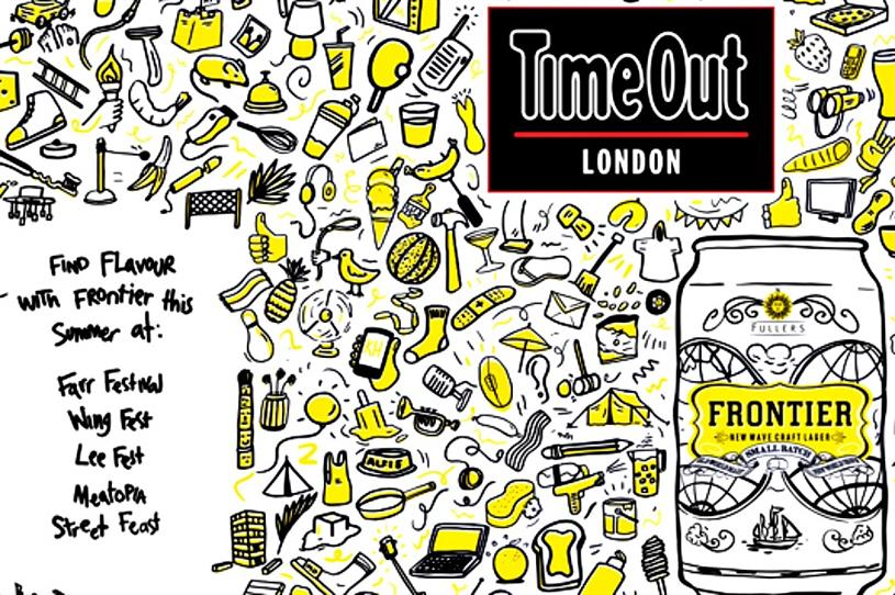 Rooftop event packages clipart graphic freeuse library Fuller\'s Frontier beer to create rooftop BBQ event with Time Out graphic freeuse library