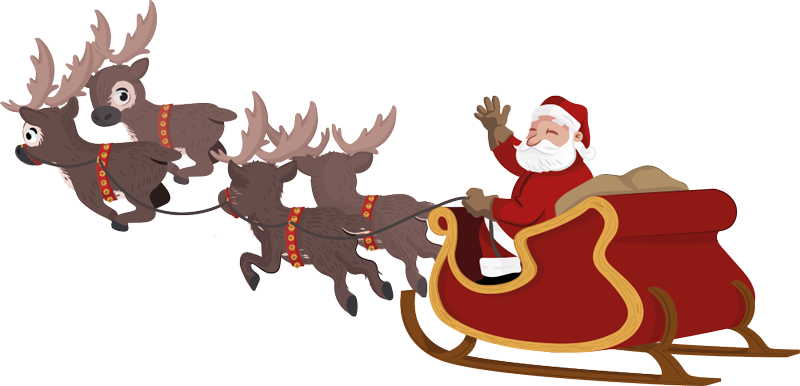 Rooftop with santa and sleigh clipart free svg freeuse download Santa S Sleigh Pictures | Free download best Santa S Sleigh ... svg freeuse download