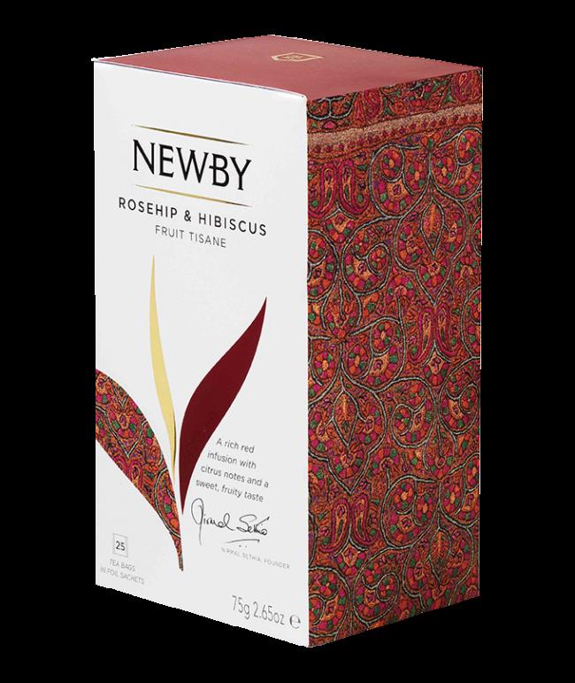 Rooibos flower clipart jpg Rosehip & Hibiscus - 25 Tea Bags | Newby Teas jpg