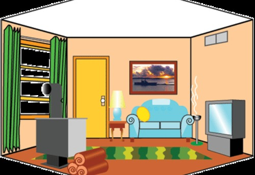 Living room clipart images png royalty free library Room Cliparts Free Download Clip Art - WebComicms.Net png royalty free library