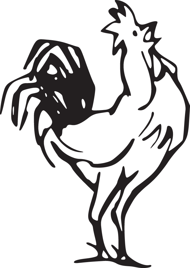 Rooster crowing clipart svg download 349RA - Rooster crowing svg download
