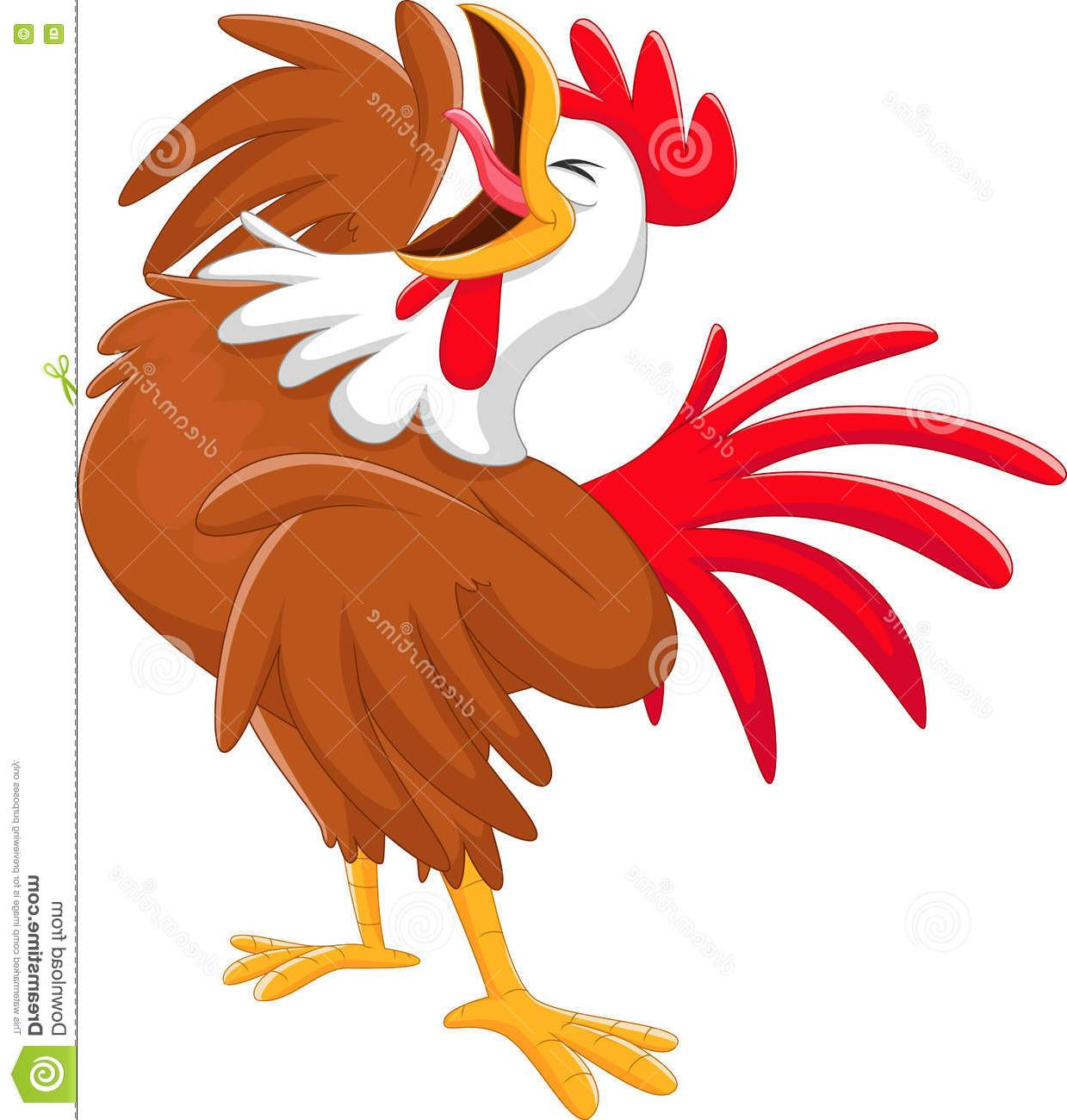 Rooster crowing clipart graphic transparent library Collection of Crowing clipart | Free download best Crowing ... graphic transparent library