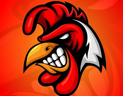 Rooster mascot clipart clip art library library Rooster Mascot logo | MASCOT | Rooster logo, Logos, Picture logo clip art library library