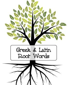 Rootwords clipart clip art royalty free stock Greek and Latin root words, includes various exercises ... clip art royalty free stock