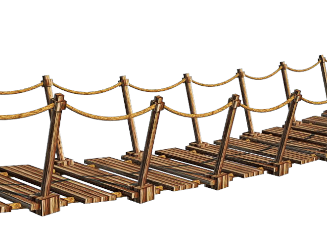 Rope bridge clipart clipart royalty free stock Rope Bridge Drawing | Free download best Rope Bridge Drawing ... clipart royalty free stock