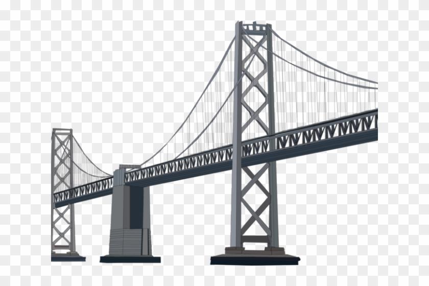 Rope bridge clipart picture transparent download Rope Bridge Clipart Transparent - Oakland Bay Bridge, HD Png ... picture transparent download