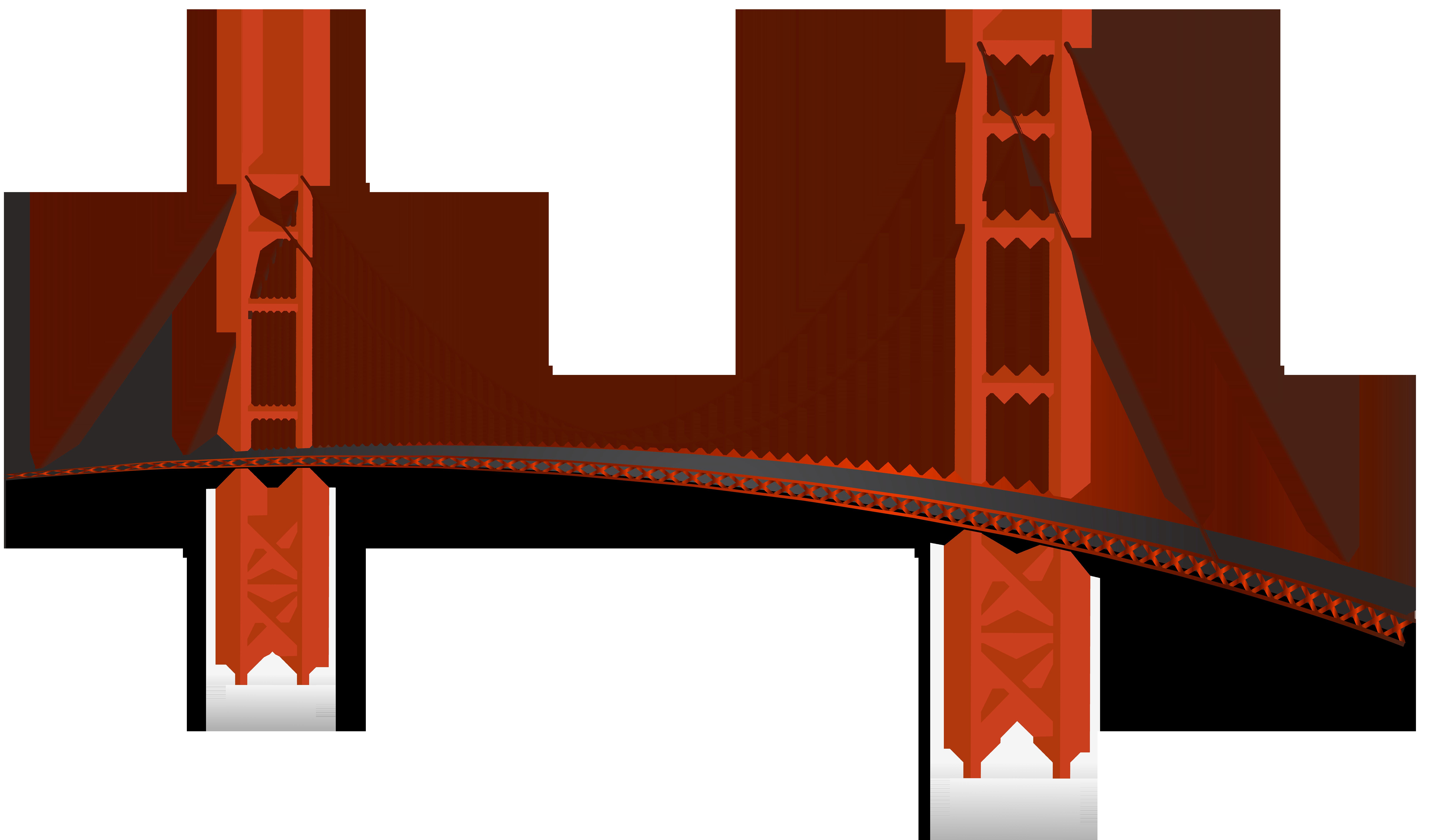 Rope bridge clipart clipart black and white library Golden Gate Bridge Nashik Clip art - tires clipart png ... clipart black and white library