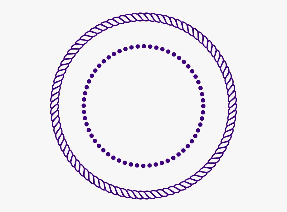 Rope circle clipart vector royalty free stock Rope Circle Border Vector - Circle Logo Clip Art #1086240 ... vector royalty free stock