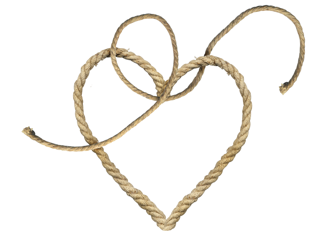Rope heart clipart jpg library Rope PNG Image - PurePNG | Free transparent CC0 PNG Image Library jpg library
