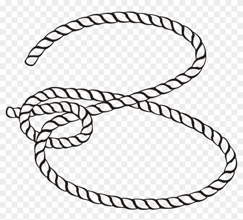 Ropes clipart clipart library Big Image - Clip Art Black And White Rope, HD Png Download ... clipart library