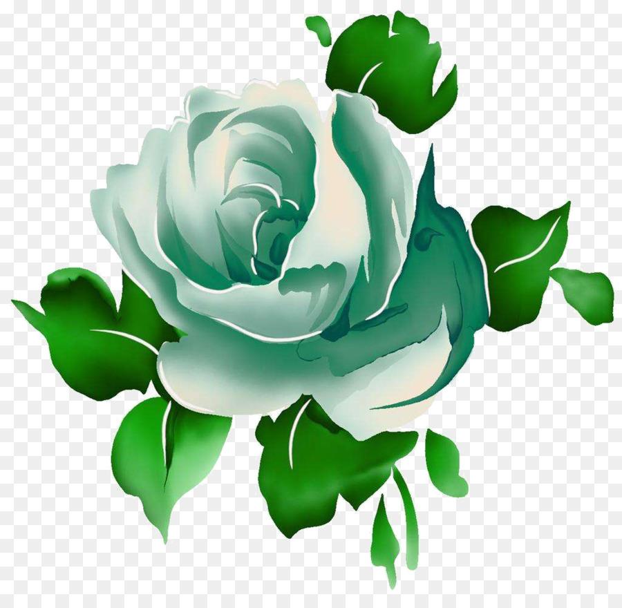 Rosas verdes clipart clip Flowers Clipart Background png download - 1024*987 - Free ... clip