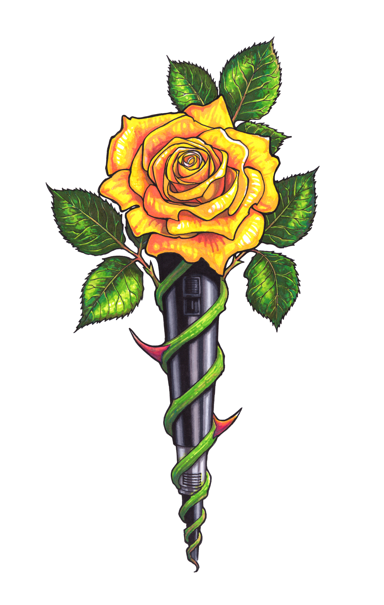 Yellow Rose Art Group (69+) transparent download