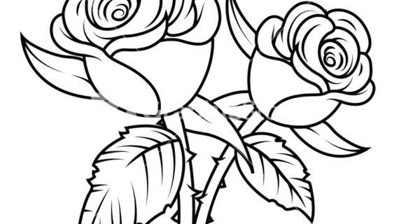 Rose clipart black and white jpg freeuse Rose Black And White Clipart | Free download best Rose Black ... jpg freeuse