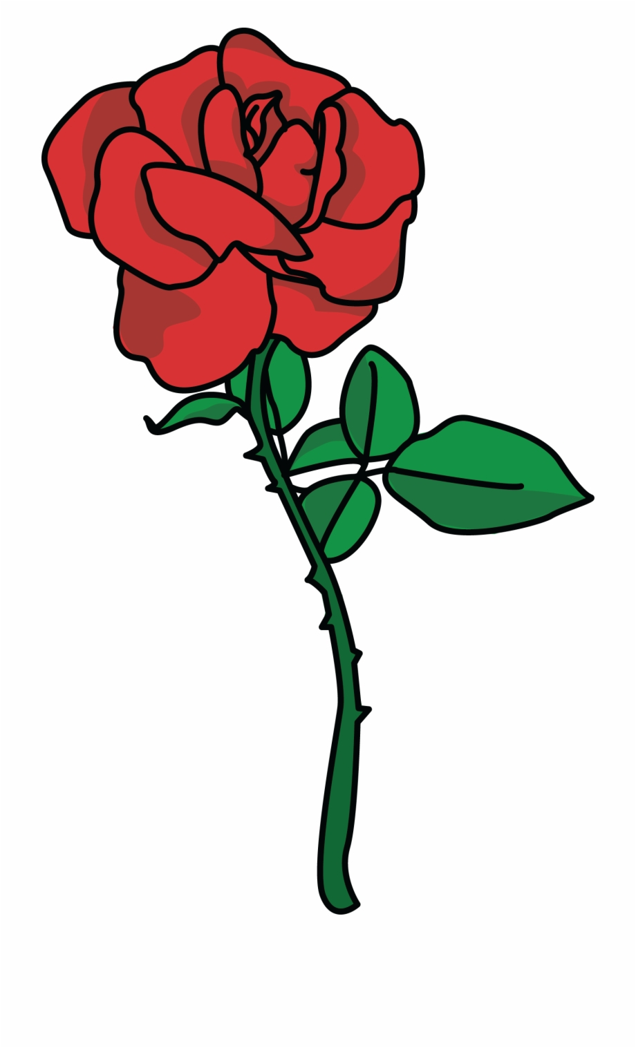 Rose clipart image vector royalty free download Rose Clip Art 10 Clipart - Rose Clipart Free PNG Images ... vector royalty free download