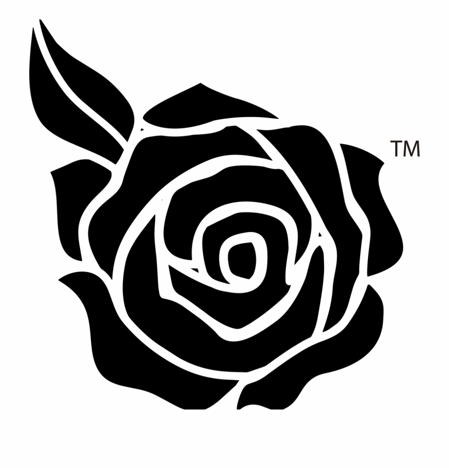 Rose clipart png black and white png library stock Black And White Rose Png Free PNG Images & Clipart Download ... png library stock