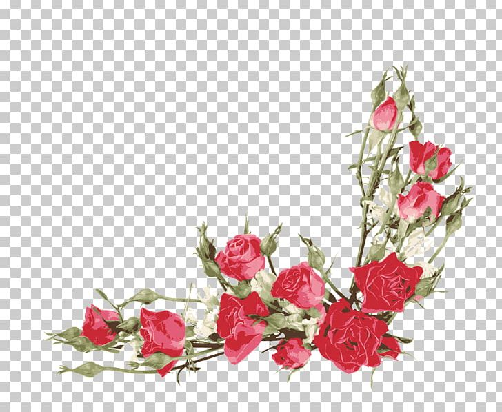 Rose floral border clipart banner free Rose Flower Bouquet PNG, Clipart, Artificial Flower, Blossom ... banner free
