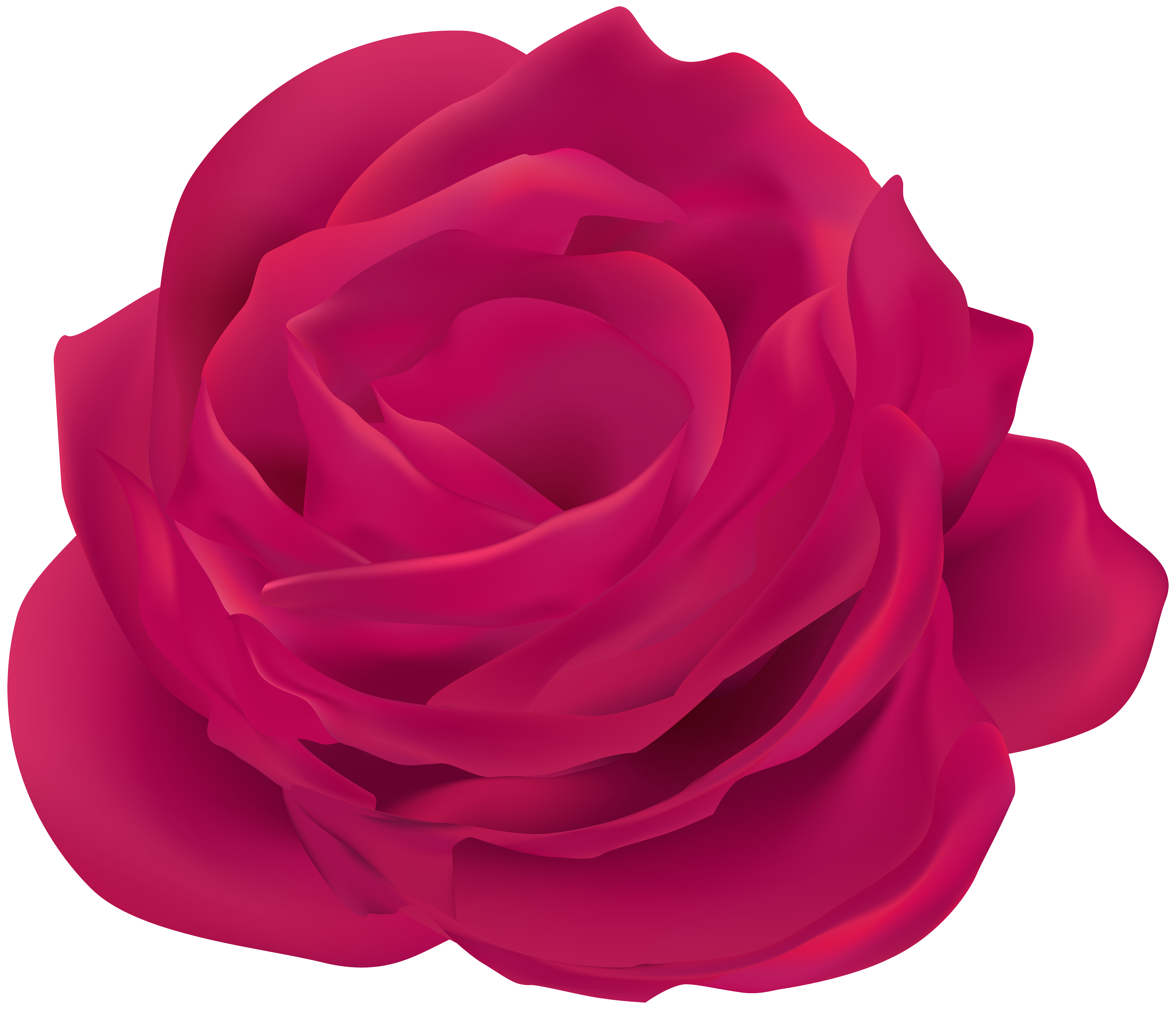 Rose flower clipart png freeuse library Pink Rose Flower Clip Art Image | Gallery Yopriceville - High ... png freeuse library