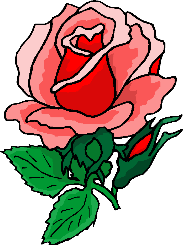 Rose flower clipart png vector library download Rose Flower Clipart - Clipart Kid vector library download