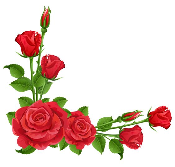 Rose flower clipart png picture royalty free download Red Roses Transparent PNG Clipart | Bloemen | Pinterest | Red ... picture royalty free download