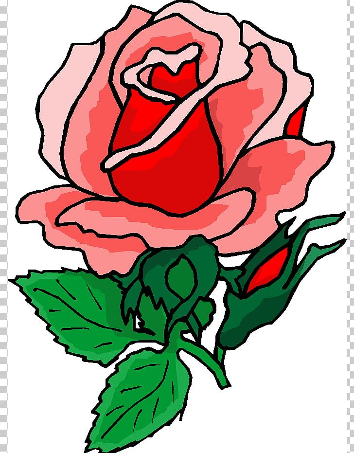 Rose flower cliparts