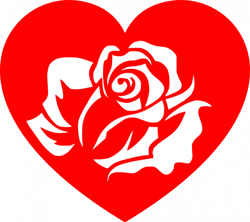 Rose heart clipart clip art free library Rose Heart Clipart | jokingart.com Heart Clipart clip art free library