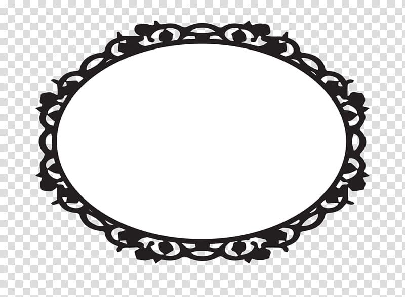 Rose oval frame clipart black and white jpg Frame Oval , Frame transparent background PNG clipart ... jpg