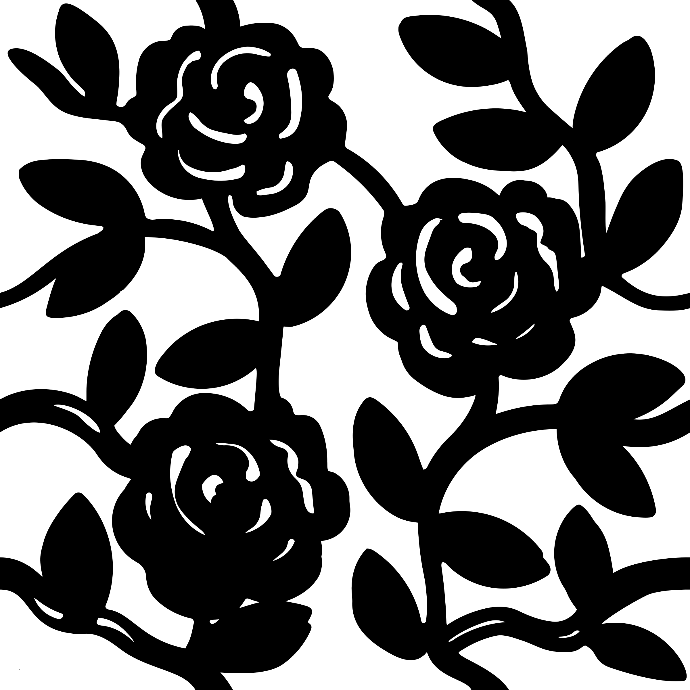 Rose pattern clipart png transparent stock Rose Pattern Drawing at GetDrawings.com | Free for personal ... png transparent stock