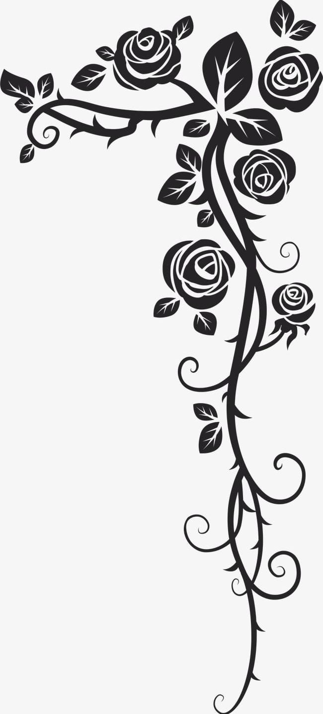 Rose pattern clipart vector royalty free download Continental Rose Pattern PNG, Clipart, Classical, Classical ... vector royalty free download