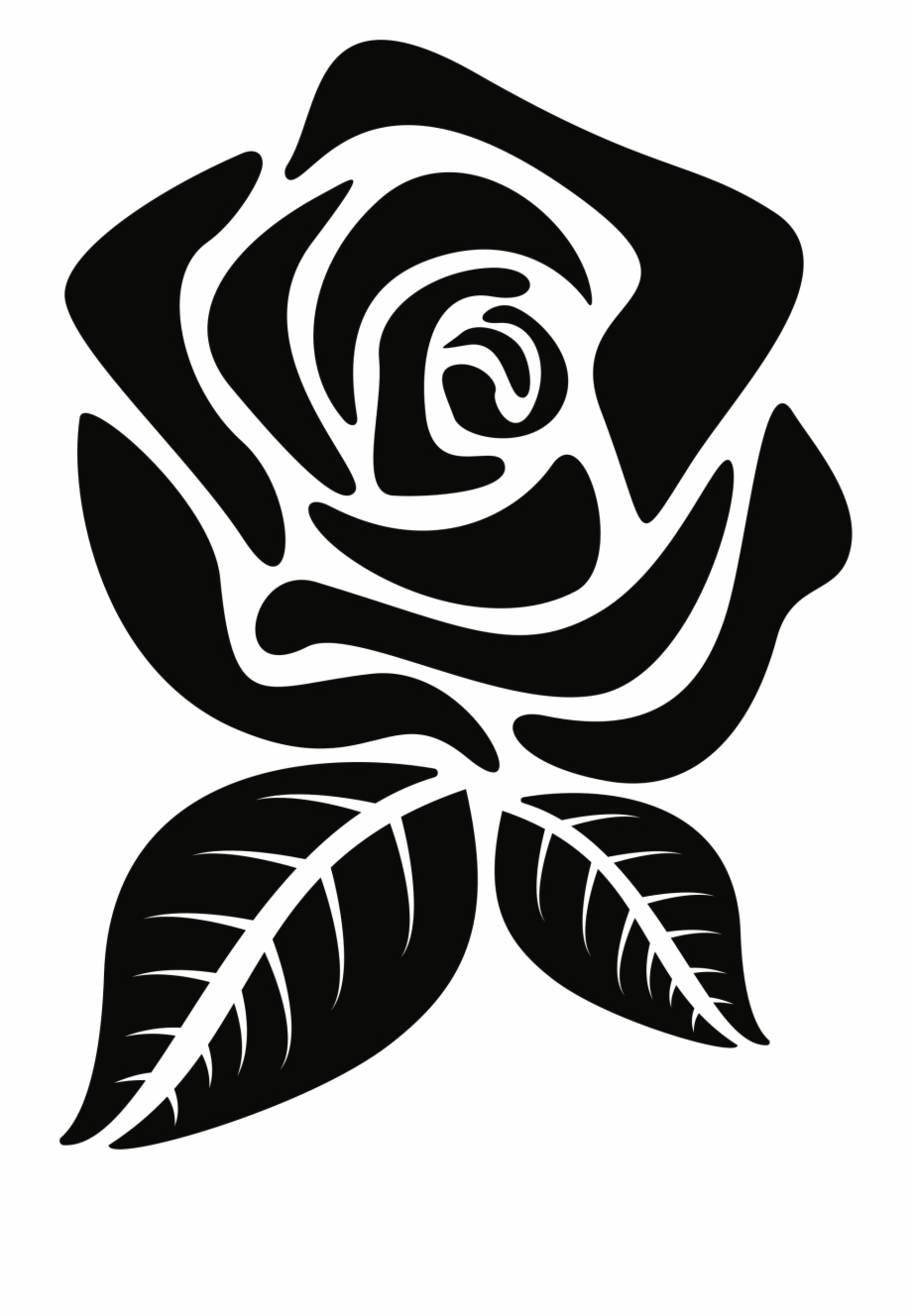 Rose silhouette clipart clip art royalty free stock Rose Silhouette Png - Rose Flower Silhouette Png Free PNG ... clip art royalty free stock