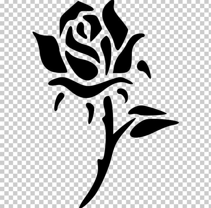 Rose silhouette clipart graphic stock Rose Silhouette PNG, Clipart, Artwork, Black And White ... graphic stock