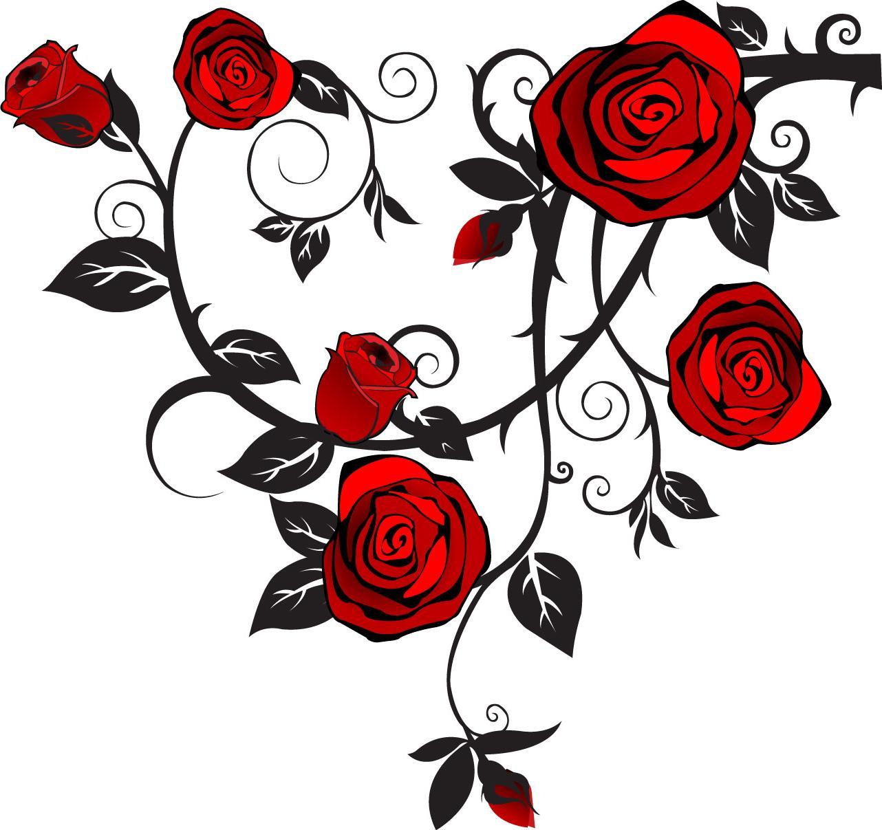 Rosevine clipart svg royalty free download Rose Vine Clip Art | Free download best Rose Vine Clip Art ... svg royalty free download