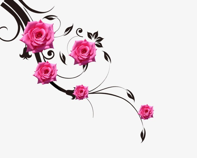 Rose vines clipart 5 » Clipart Portal jpg royalty free stock