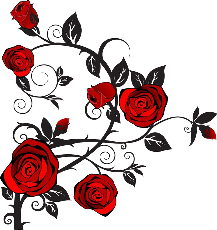 Rose vines clipart clipart freeuse library Rose Vine Clipart | Free download best Rose Vine Clipart on ... clipart freeuse library