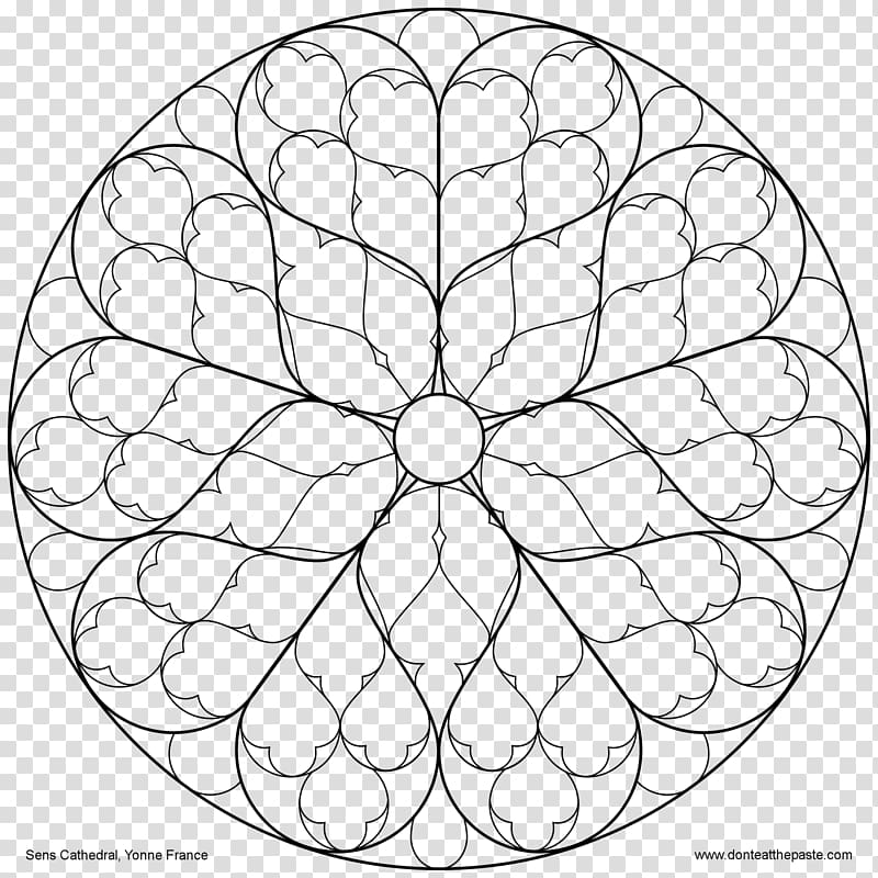 Rose window clipart clip freeuse stock Rose window Notre-Dame de Paris Chartres Cathedral Stained ... clip freeuse stock