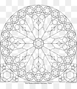 Rose window clipart clipart library stock Rose Window PNG and Rose Window Transparent Clipart Free ... clipart library stock