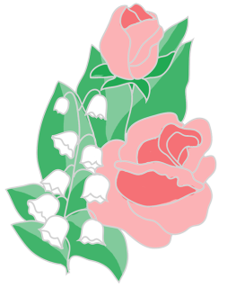 Roses and lilys clipart graphic free download free flower clipart roses lilies of the valley | CLIP ART ... graphic free download