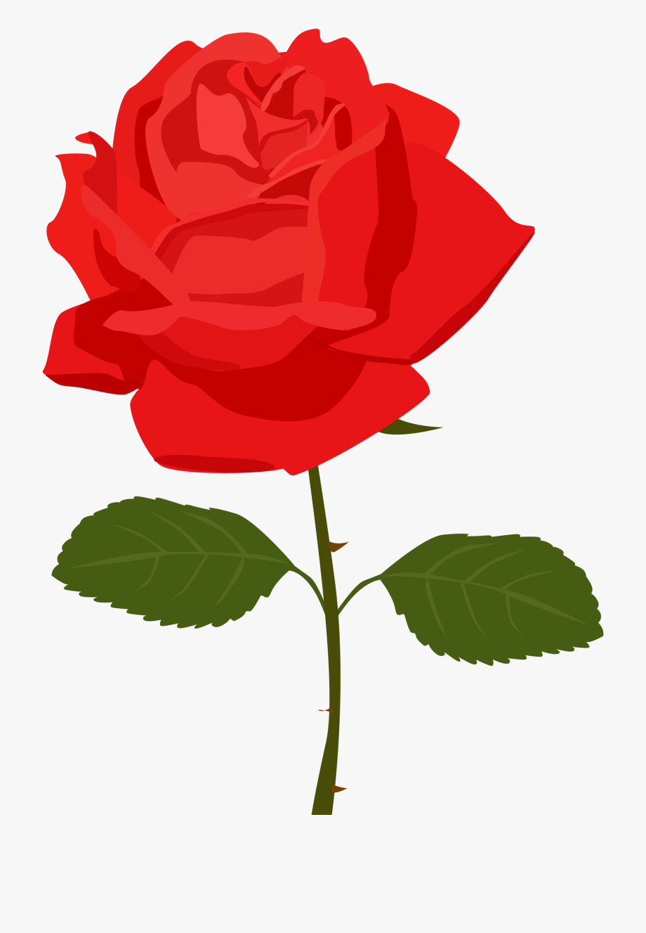 Rose clipart without backgroaud image transparent Dozen Red Roses Clipart 10 Re - Rose Clipart Transparent ... image transparent