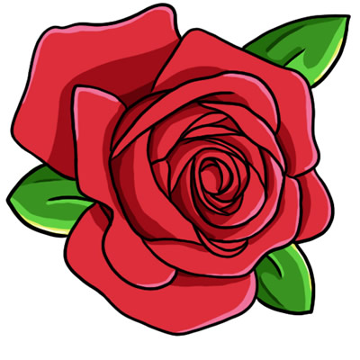 Roses cliparts svg royalty free Rose Clipart - Clipart Kid svg royalty free