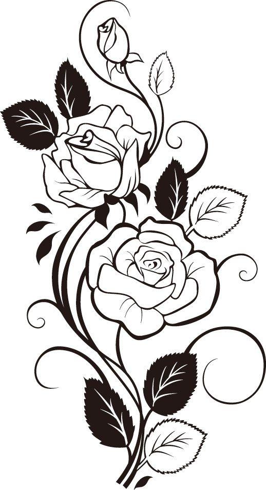 Rosevine clipart vector download Free Rose Vine Cliparts, Download Free Clip Art, Free Clip ... vector download